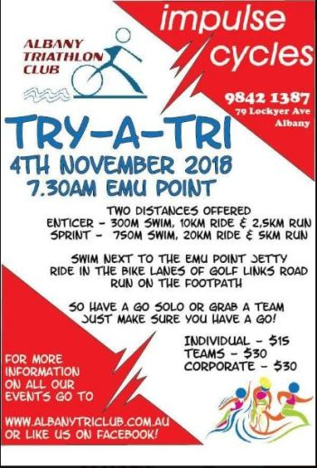 Try a Tri Poster